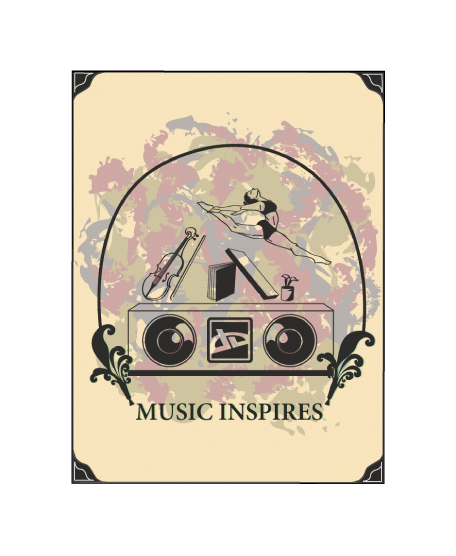 Music Inspires T-Shirt Design