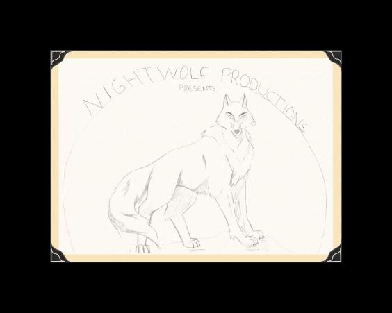 The Original Nightwolf Productions Logo